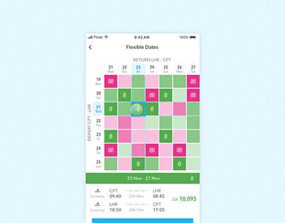 Flapp: Calendar Search