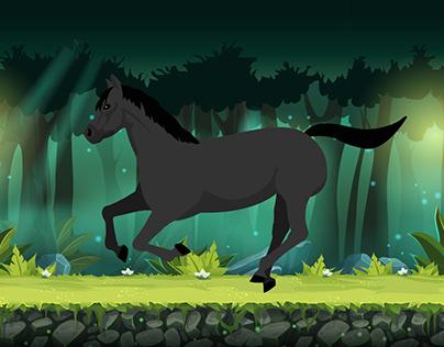 horse animation