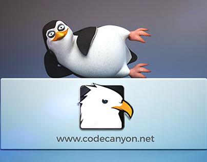 Pongo the Penguin - Logo Reveal