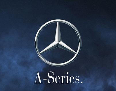 Mercedes A-Series Advertising Envelope