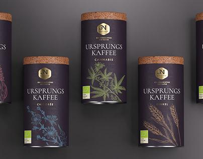 "Design of coffee TM ""Natujoy"""