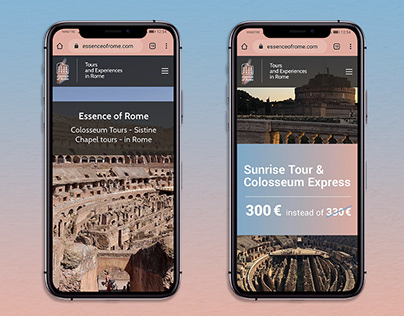 Essence of Rome, Tour guide - Brand Identity