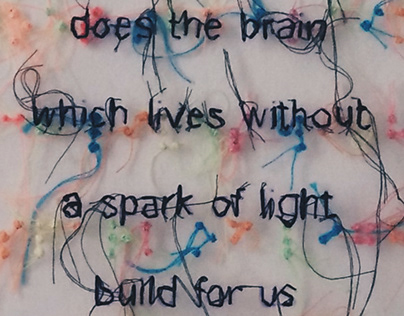 All the light we cannot see - Embroidery