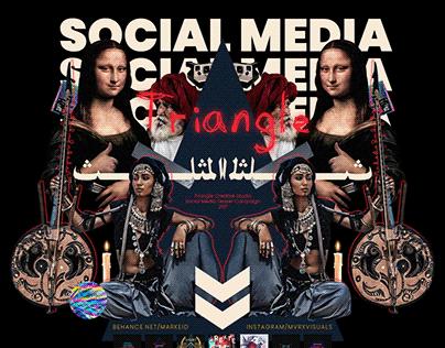 Triangle Creative Studio   Social Media Designs