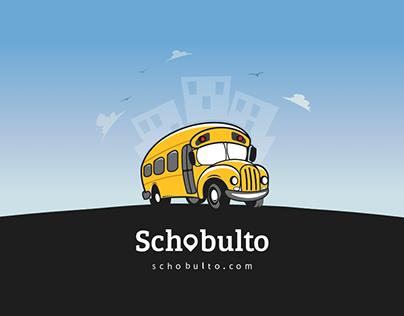 🚌 Schobulto - Mobile App Design