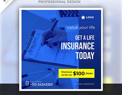 Insurance social media post