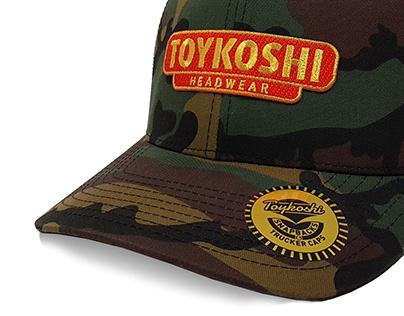 Toykoshi Headwear - Camo Nameplate Patch Design 2017