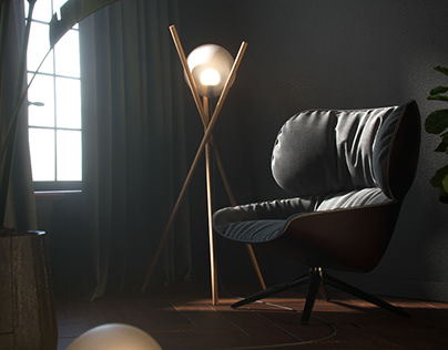 tripod (floor lamp)