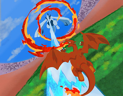 Pokemon: Charizard vs Lugia