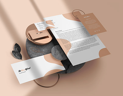 Cover letter and letter head design