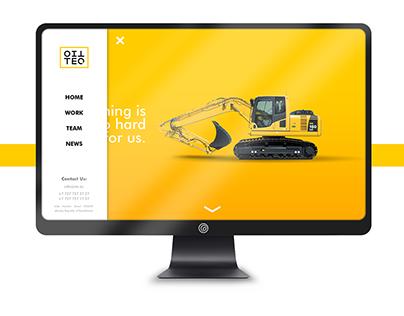 Rebranding OilTeq. Industrial Construction.