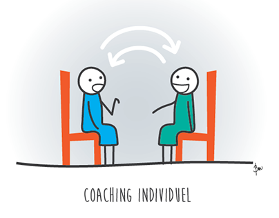 Illustrations for coaching services - Business and Soul