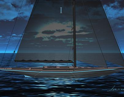 Yacht design I-class