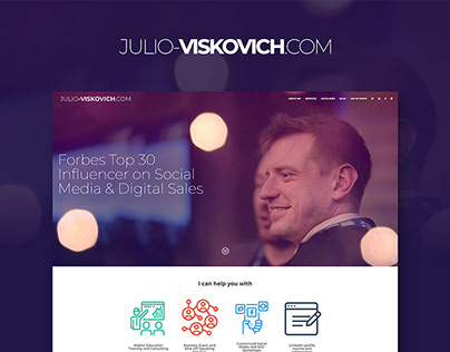 Julio Viskovich - personal website