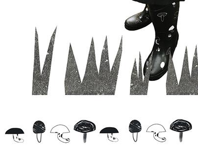 GRZYBOWO\MUSCHROOMS | illustration