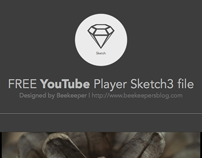 FREE Youtube Player Sketch3 file