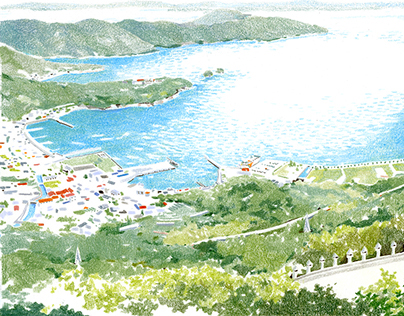 illustrations from Shodo island series