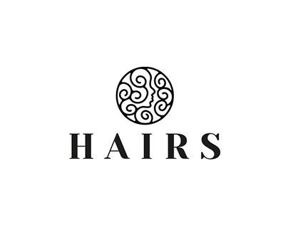 Hairs - hairdresser logo