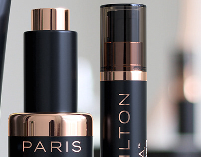 3D PARIS HILTON Skincare ProD.N.A - Advertising Imagery