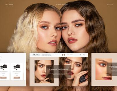 UX/UI Design Hindika Eyebrow henna