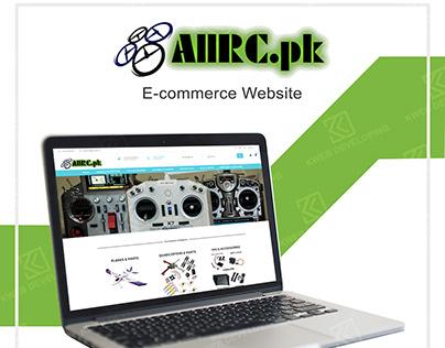 ALLRC PK E-COMMERCE WEBSITE