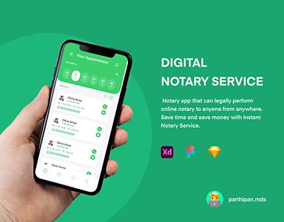 Digital Notary Service