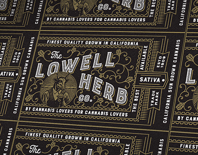 Lowell Letterpress Labels