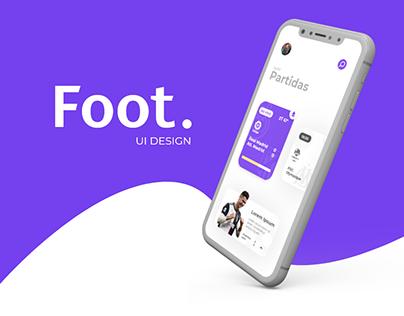 Foot. App (UI Design)