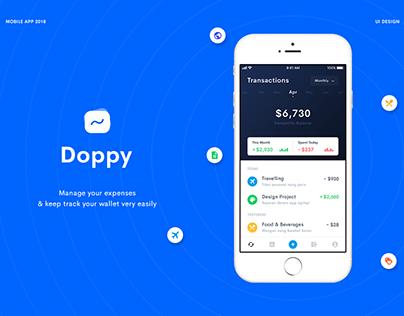 Doppy - Wallet App Concept
