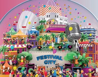 BAHRAIN SHOPPING FESTIVAL 2017: PRINT CAMPAIGN
