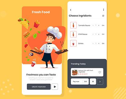 Food Apps UI