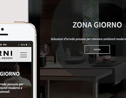 Web design concept #3