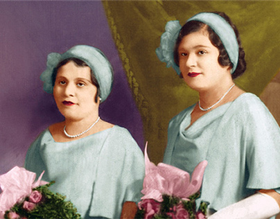 Photo restoration, retouch and colorization