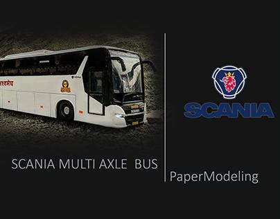 Scania MSRTC- Paper Model