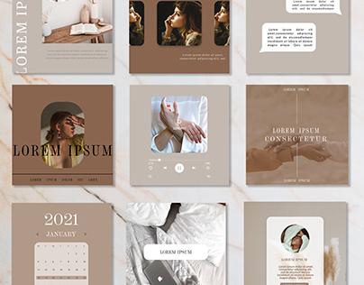 Social Media design ( Instagram post design)