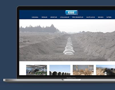 Ece Boru Sistemleri - Web Design & CMS Integration