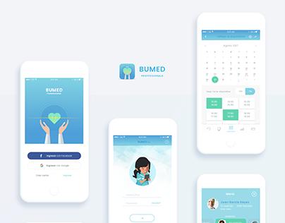 Bummed - Professionals app