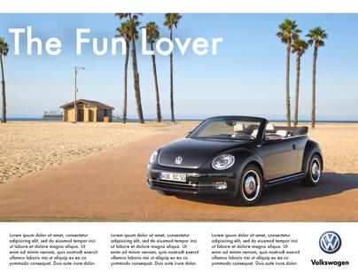 Mock Volkswagen Magazine Ads
