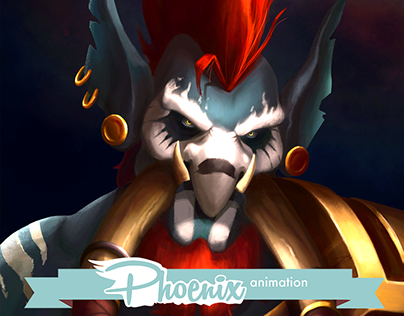 Concept Art - Vol'jin from Hearthstone