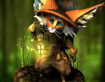 Argyle - Fox Character
