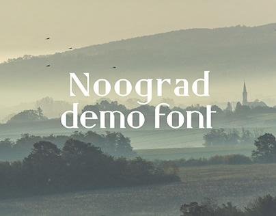 Free Noograd Fancy Font