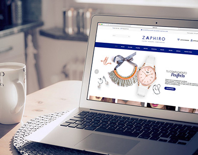 Zaphiro. Branding and web.
