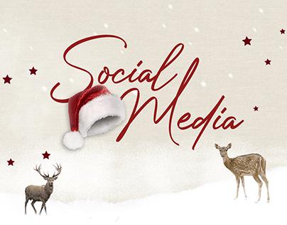 Social Media - Feed de Natal