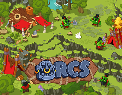 """Town builder game """"Orcs"""""""