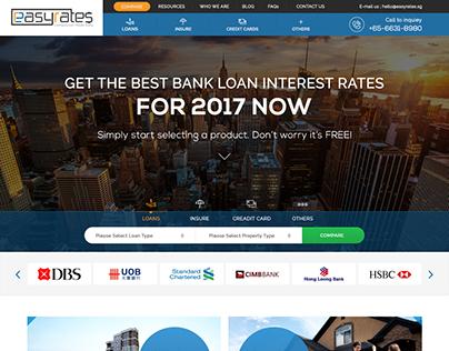 Bank loan rate website