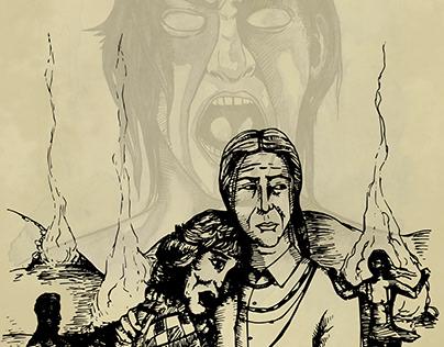 Comanche Maneater (cover art)