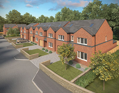 3d visuals of a new site in Royton. www.crisp3d.co.uk