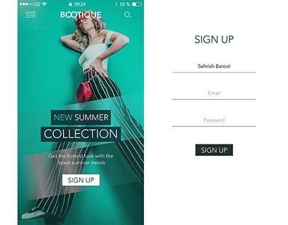 UI/UX ios Mobile App