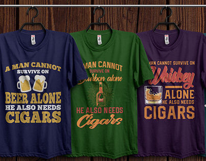 Cigar-Smoking-T-shirt-Clothing