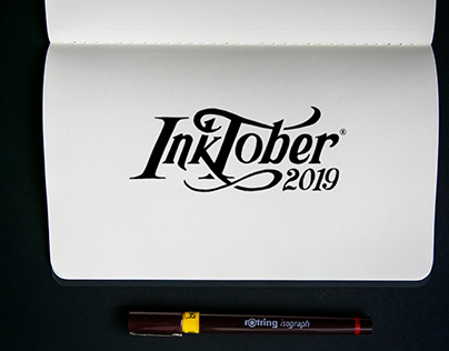 inktober 2019 // Hand Lettering